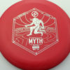 Infinite Discs Myth - red - d-blend - silver - 304 - 1194 - 172g - 172-8g - somewhat-puddle-top - somewhat-stiff