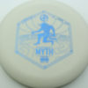 Infinite Discs Myth - white - d-blend - blue - 304 - 1194 - 171g - 172-3g - somewhat-puddle-top - pretty-stiff