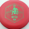 Infinite Discs Myth - red - d-blend - green - 304 - 1194 - 170g - 170-8g - somewhat-puddle-top - pretty-stiff
