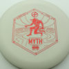 Infinite Discs Myth - white - d-blend - red - 304 - 1194 - 172g - 172-0g - somewhat-puddle-top - pretty-stiff