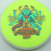 Avatar - yellow - white - star - full-color - 180g - 179-7g - somewhat-domey - somewhat-stiff