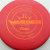 Warden - red - classic - orange - 173g - 173-5g - pretty-flat - somewhat-stiff