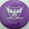 Disc Days - Legacy - rampage - purple - icon - silver-hearts - 173g - 174-2g - somewhat-flat - neutral
