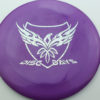Disc Days - Legacy - rampage - purple - icon - silver-hearts - 171g - 172-1g - somewhat-flat - somewhat-stiff
