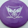 Disc Days - Legacy - rampage - purple - icon - silver-hearts - 172g - 173-0 - somewhat-flat - neutral