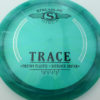 Trace - green - proton - black - silver - 1194 - 172g - 174-1g - somewhat-domey - somewhat-stiff
