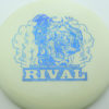 Glow Rival - Limited Edition - glow - blue-pebbles - 175g - 175-8g - somewhat-flat - somewhat-stiff