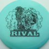 Glow Rival - Limited Edition - glow-blue - black - 174g - 174-6g - neutral - somewhat-stiff