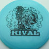 Glow Rival - Limited Edition - glow-blue - black - 174g - 174-7g - neutral - somewhat-stiff