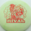 Glow Rival - Limited Edition - glow-light-yellow - red-fracture - 175g - 175-0g - neutral - somewhat-stiff