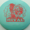 Glow Rival - Limited Edition - glow-blue - red-fracture - 175g - 177-1g - neutral - somewhat-stiff