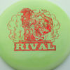 Glow Rival - Limited Edition - glow-green-2 - red-fracture - 175g - 175-2g - neutral - somewhat-stiff