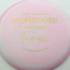 Mongoose - pink - icon - gold-dots-mini - 168g - 168-7g - somewhat-domey - somewhat-gummy