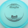 Roc3 - blue - champion - black - 304 - 180g - 180-9g - somewhat-flat - neutral