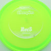 Roc3 - green - champion - silver - 304 - 180g - 181-2g - somewhat-flat - neutral