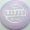 McBeth Hades - Stock ESP - silver-diamond-plate - 173-175g - 173-7g - somewhat-flat - neutral