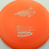 Wraith - Star / Champion - orange - star - silver - 304 - 158g - 159-2g - somewhat-domey - somewhat-stiff