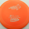 Wraith - Star / Champion - orange - star - silver - 304 - 159g - 159-6g - somewhat-domey - somewhat-stiff