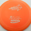 Wraith - Star / Champion - orange - star - silver - 304 - 159g - 160-0g - somewhat-domey - somewhat-stiff