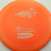Wraith - Star / Champion - orange - star - silver - 304 - 158g - 160-0g - somewhat-domey - somewhat-stiff