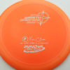 Wraith - Star / Champion - orange - star - silver - 304 - 159g - 159-5g - somewhat-domey - somewhat-stiff