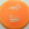 Wraith - Star / Champion - orange - star - silver-squares - 304 - 150g - 151-2g - neutral - somewhat-stiff