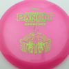 Bandit - pink - pinnacle - green-lines - 304 - 175g - 177-2g - somewhat-flat - pretty-stiff