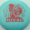 Glow Rival - Limited Edition - glow-blue - red-fracture - 175g - 175-9g - neutral - somewhat-stiff