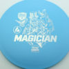 Magician - blue - active - silver - 3619 - 169-7g - somewhat-domey - somewhat-stiff