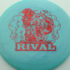 Glow Rival - Limited Edition - glow-light-blue - rainbow-fracture - 175g - 176-3g - neutral - somewhat-stiff