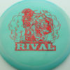 Glow Rival - Limited Edition - glow-light-green - red-fracture - 175g - 175-4g - neutral - somewhat-stiff