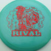 Glow Rival - Limited Edition - glow-blue-green - red-fracture - 175g - 175-7g - neutral - somewhat-stiff