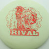 Glow Rival - Limited Edition - glow - red-fracture - 175g - 175-5g - neutral - somewhat-stiff