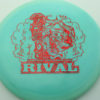 Glow Rival - Limited Edition - glow-light-blue - red-fracture - 175g - 175-9g - neutral - somewhat-stiff
