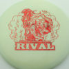 Glow Rival - Limited Edition - glow - red-fracture - 175g - 175-8g - neutral - somewhat-stiff