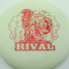 Glow Rival - Limited Edition - glow - red-fracture - 175g - 175-4g - neutral - somewhat-stiff