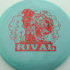 Glow Rival - Limited Edition - glow-blend-blue-pink - red-fracture - 175g - 176-8g - neutral - somewhat-stiff