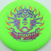 Kona Panis I-Blend Emperor - green - purple - silver-fracture - red - 168g - 169-3g - pretty-domey - somewhat-stiff