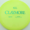 Claymore - yellow - opto - green - 169g - 171-4g - neutral - neutral