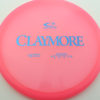 Claymore - pink - opto - black - 169g - 170-6g - neutral - neutral