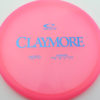 Claymore - pink - opto - blue - 169g - 170-0g - neutral - neutral