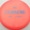Claymore - pink - opto - blue - 169g - 170-5g - neutral - neutral