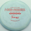 Nemesis - swirly - icon - red-fracture - 175g - 176-2g - somewhat-flat - somewhat-stiff