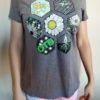Honeycomb Home Shirts - Paige Pierce & Pirate Nate Collaboration - gray-frost - xs-womens