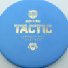 Discmania Tactic - blue - exo-hard - gold - 173g - 172-8g - somewhat-puddle-top - pretty-stiff