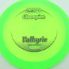 Valkyrie - green - champion - black - 304 - 170g - 171-2g - neutral - somewhat-stiff