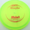 Mako3 - yellowgreen - champion - red - 180g - 180-5g - somewhat-flat - neutral