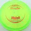 Mako3 - green - champion - red - 180g - 181-0g - somewhat-flat - neutral