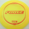 Force - yellow - z-line - red - 304 - 173-175g - 174-8g - neutral - somewhat-stiff