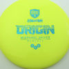 Discmania Origin - yellow - teal - 177g - 176-5g - neutral - somewhat-stiff